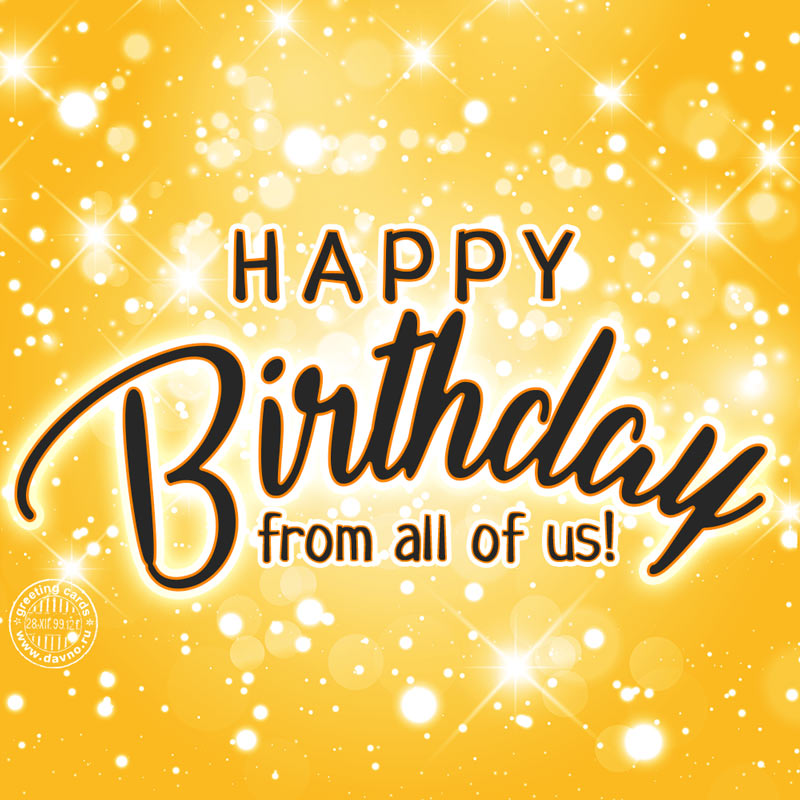 From All Of Us Happy Birthday Download On Davno