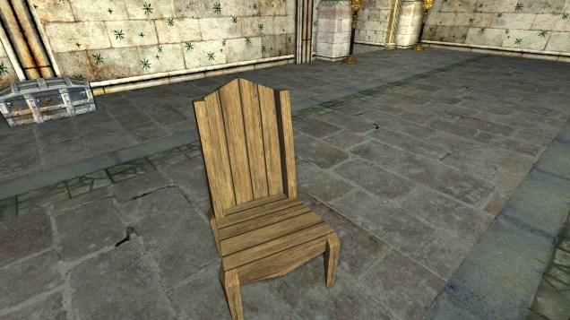 Wooden Chair 2
