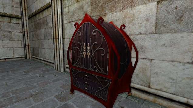 red dresser 6
