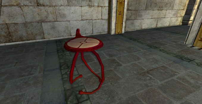 Red Round Table