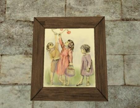'Playful Children' Painting