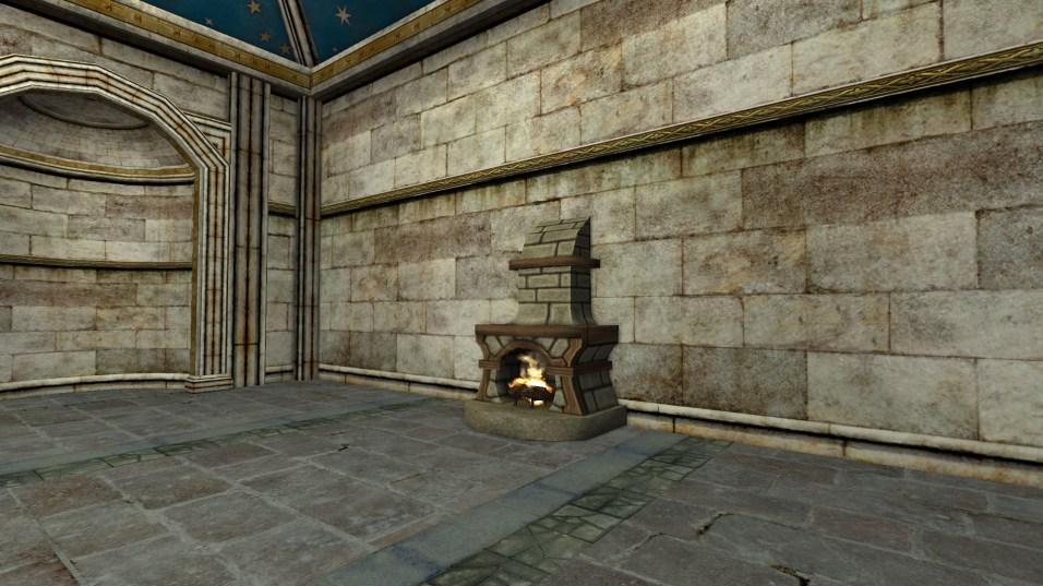 small stone fireplace 6