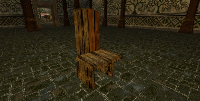 Simple Rohirric Chair