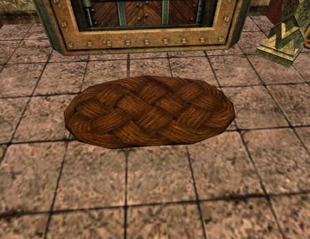 Brown Woven Doormat