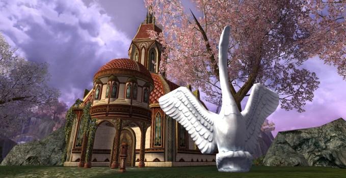 Proud Swan Ice Sculpture