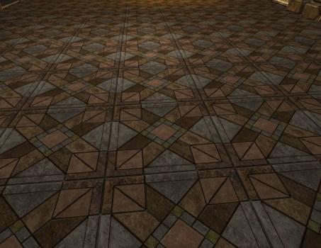 Multi-coloured Stone Floor