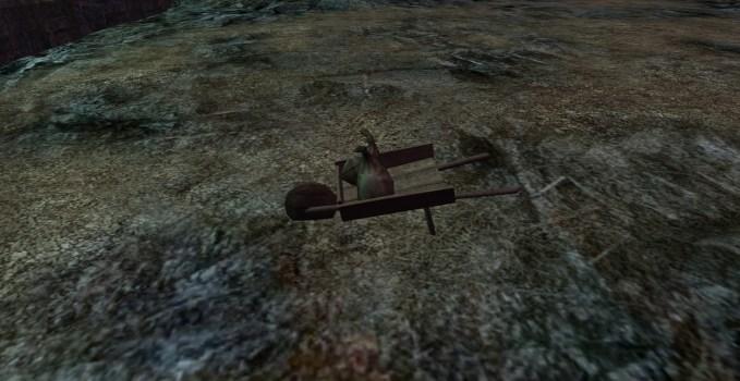 Wheelbarrow & Sacks