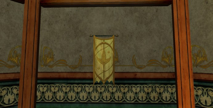 Caras Galadhon Tapestry