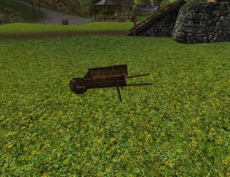 Large Empty Wheelbarrow