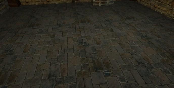 Small Cut Stone Floor