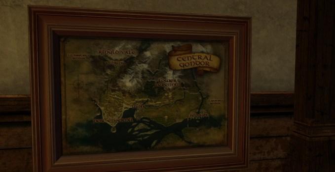 Large Map of Central Gondor