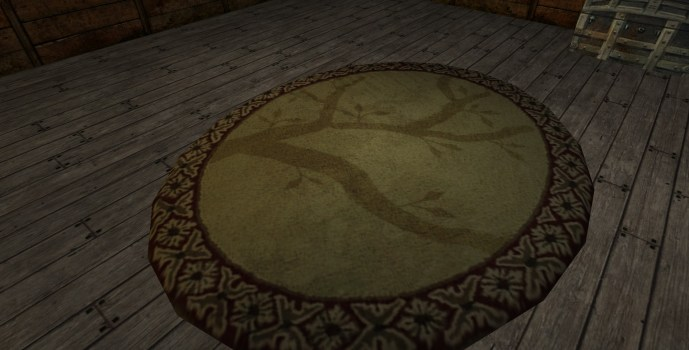 Small 'Tree Shadow' Rug