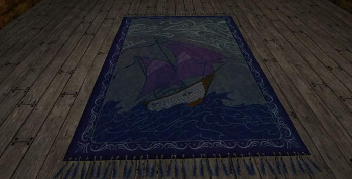 Small 'High Seas' Rug
