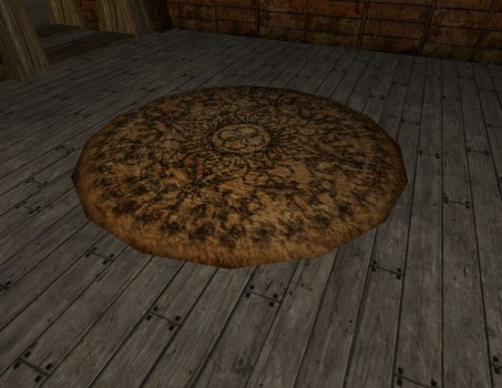 Small 'Ring and Leaf' Rug