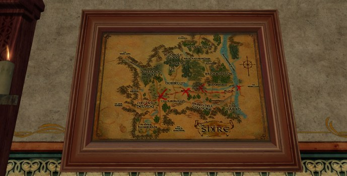 Large Map of Bingo in the Shire