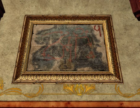 Ketill's Small Map of Bingo in Moria