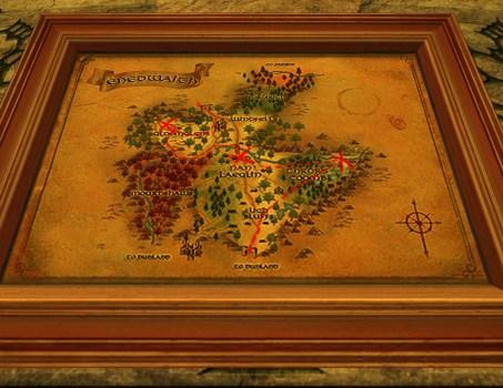 Small Map of Bingo in Enedwaith