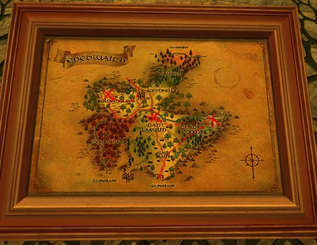 Large Map of Bingo in Enedwaith