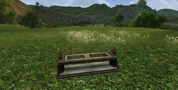 Long Gondorian Bench