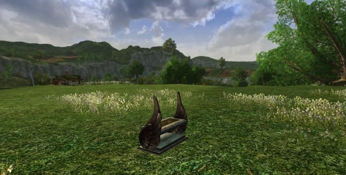 Small Gondorian Bench