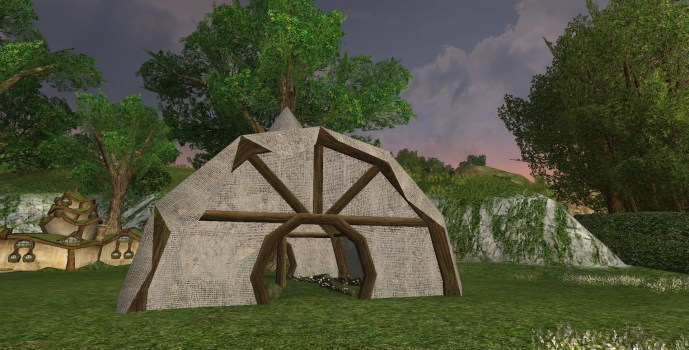 Mushroom-growing Tent