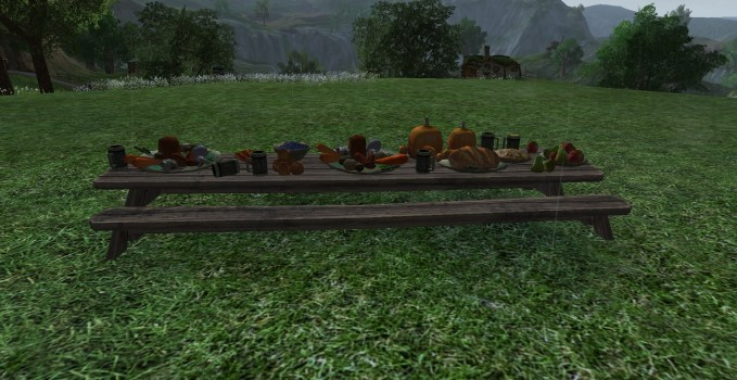 Large Feasting Table