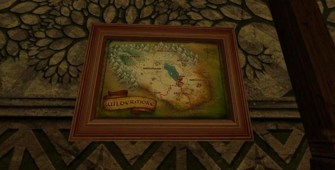 Small Map of Bingo in Wildermore