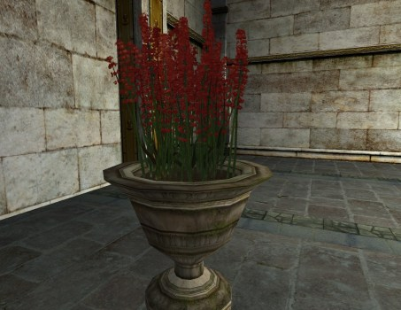Potted Red Hawfingers