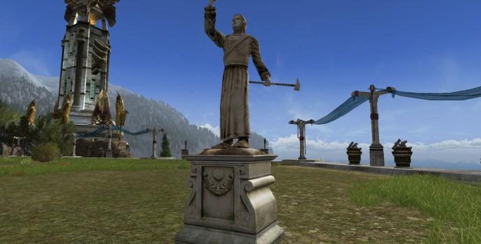 Celebrimbor Statue