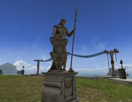 Gil-galad Statue