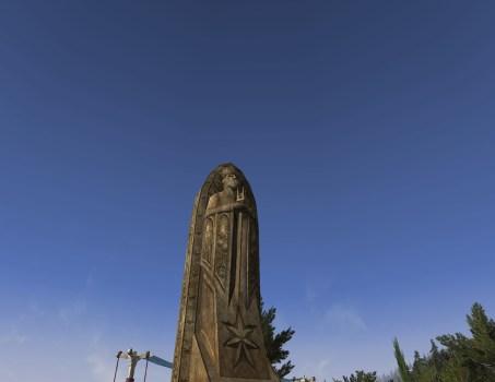 King's Effigy Statue