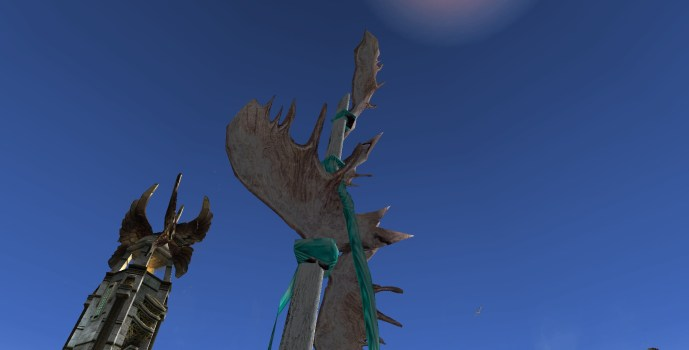 Frost-antler Pole