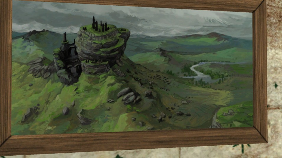 Above Weathertop Painting 3