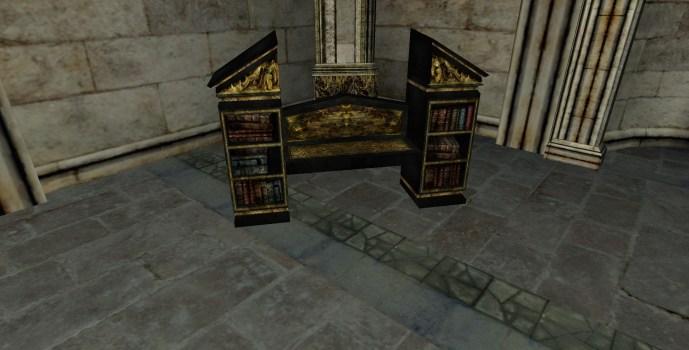 Gondorian Bookshelf Couch