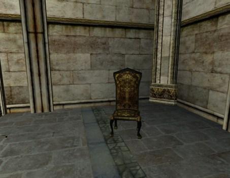 High-back Gondorian Chair
