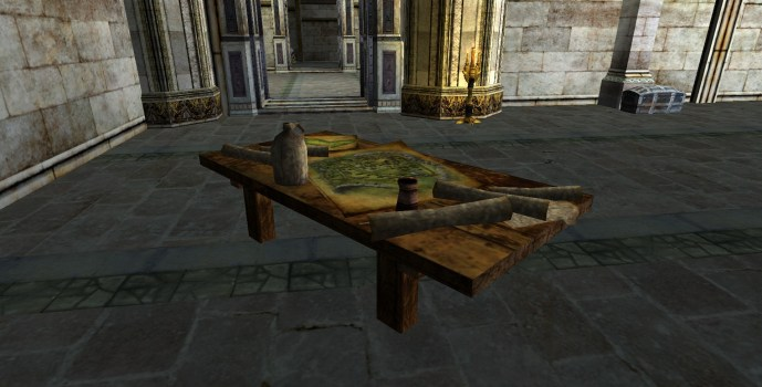 Rohirrim Map Table