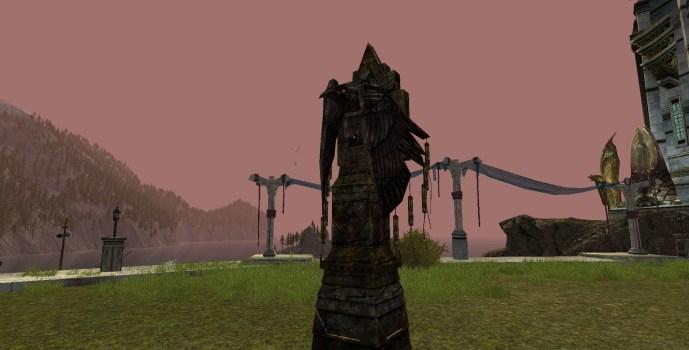 Watchful Raven Statue