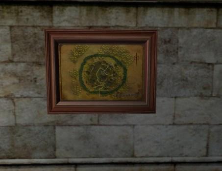 Map of Caras Galadhon