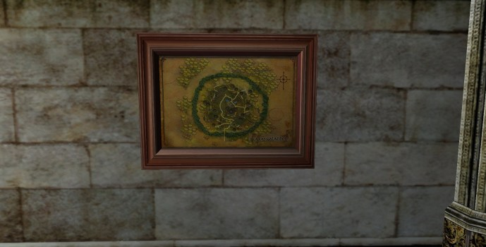 Map of Caras Galadhon