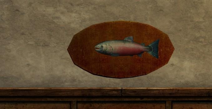6-pound Salmon Trophy