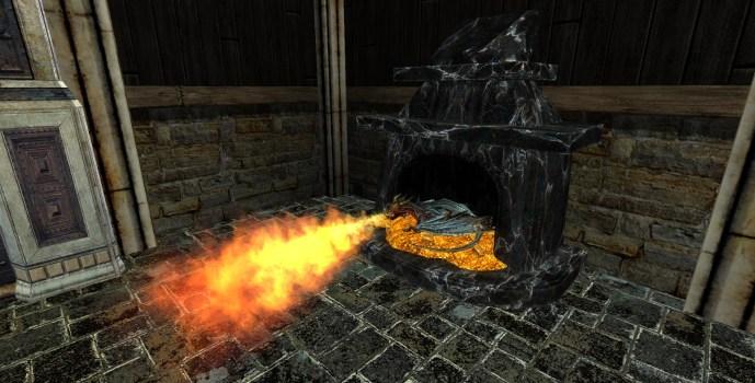 Draigoch's Fireplace