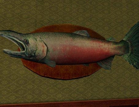 30-pound Salmon Trophy