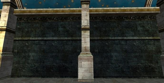 Mordor Stone Walls