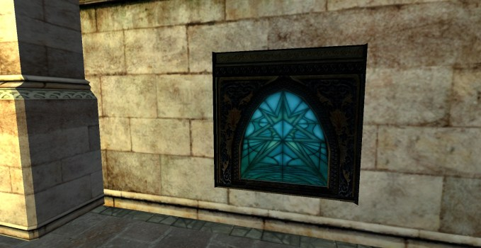 Stained Glass – Blue