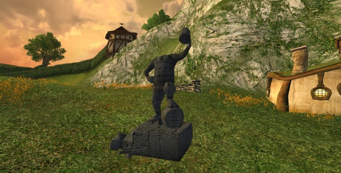 Defiled Inn League Statue