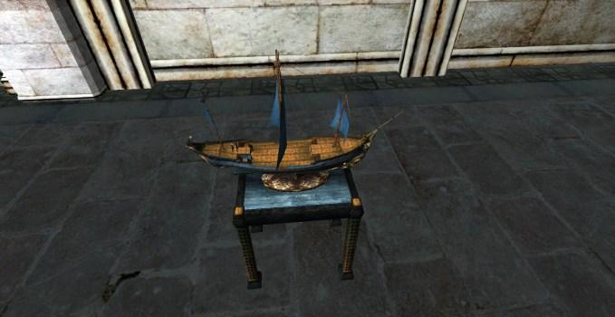 Model Gondor Ship