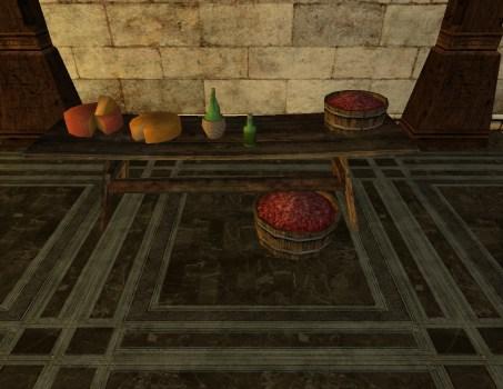 Laden Tasting Table