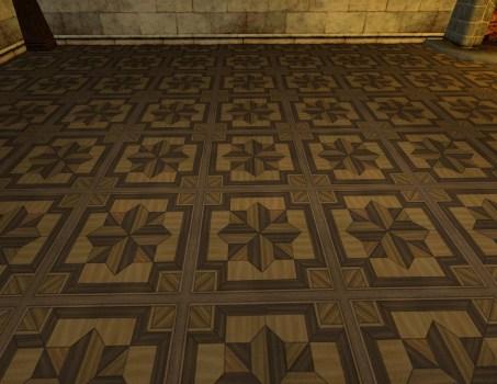 Intricate Wood Floor