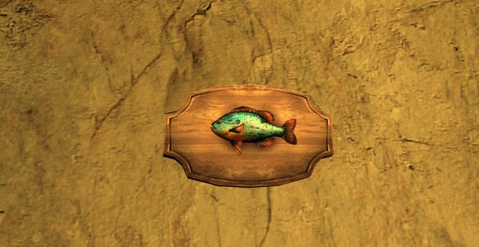 Pumpkinseed Trophy