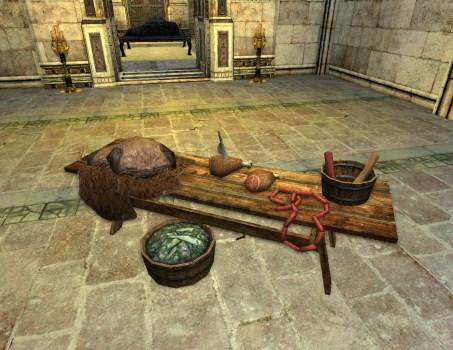 Laden Butcher's Table